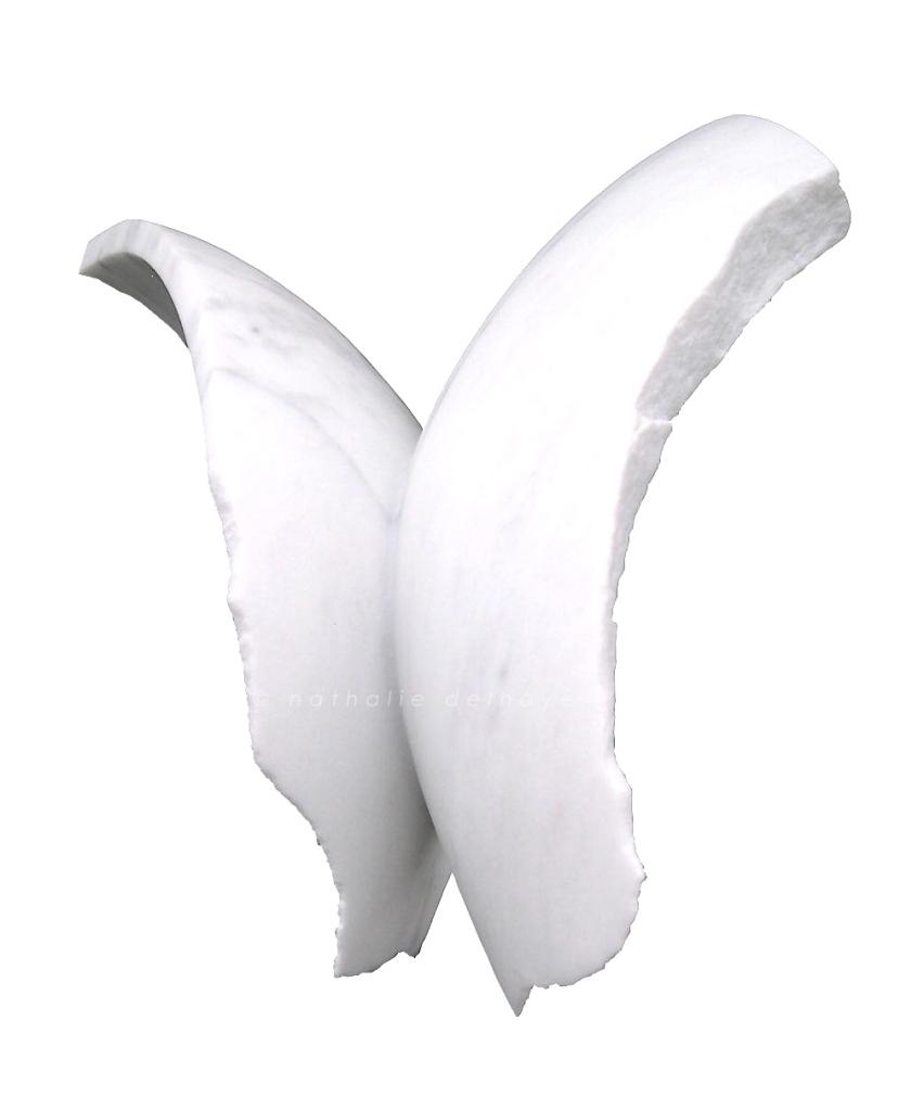 Madame rêve ... marmo bianco  28x15x30 cm  2007